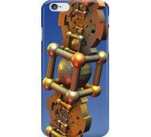 The Time Machine, fractal 3-d design iPhone Case/Skin