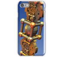 The Time Machine, fractal 3-d design iPhone Case/Skin