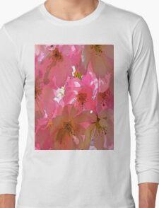 Pink Cherry Blossoms  Long Sleeve T-Shirt