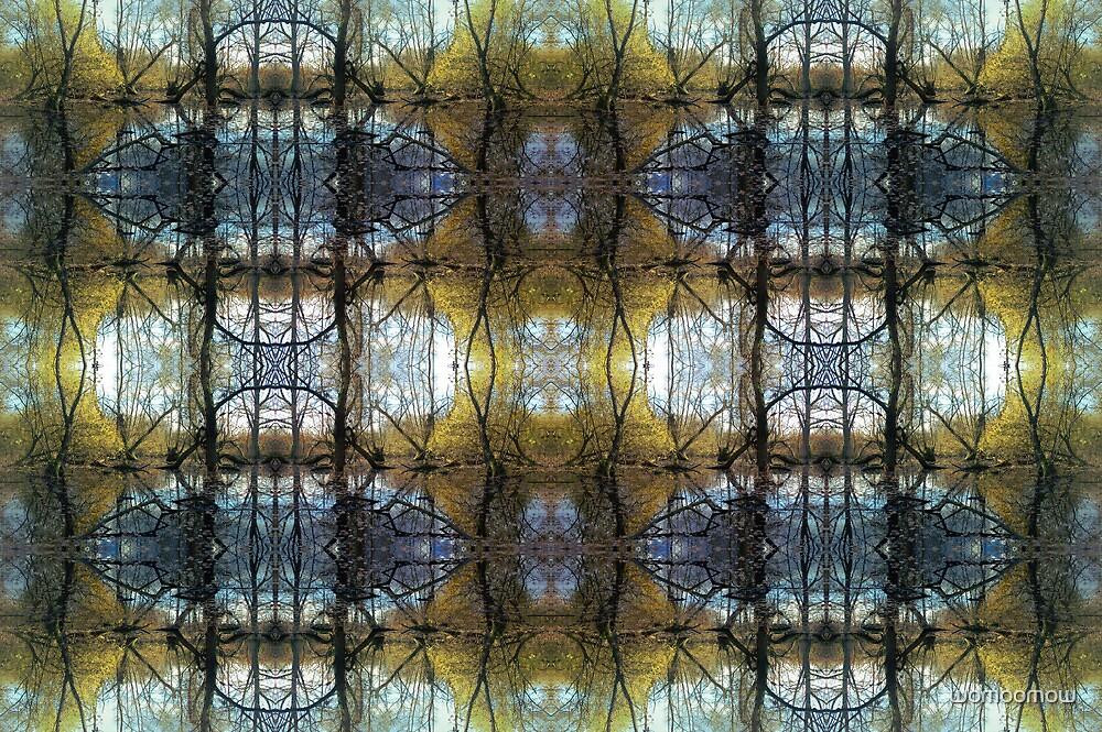 kaleidoscope swamp by womoomow
