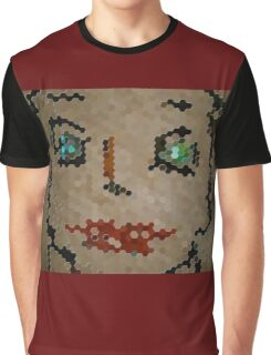 Green Eyes Red Graphic T-Shirt
