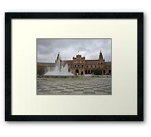 Plaza España Framed Print