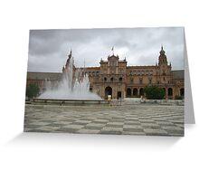 Plaza España Greeting Card