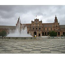 Plaza España Photographic Print