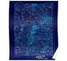 USGS TOPO Map New Hampshire NH Peterboro 330303 1900 62500 Inverted Poster