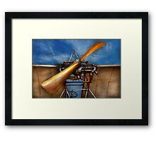 Pilot - Prop - They don't build them like this anymore Framed Print