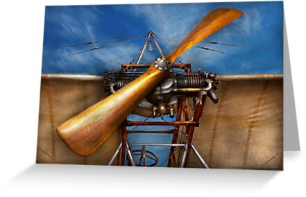 Pilot - Prop - They don't build them like this anymore by Mike  Savad