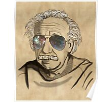 Albert's Sunglasses Poster