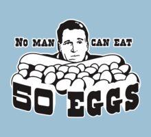 Cool Hand Luke: No man can eat 50 eggs Kids Tee