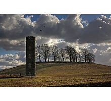 Cammo Water Tower Photographic Print