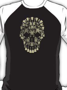 Musical Instruments Rock Skull T-Shirt