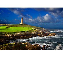 Hercules Tower lighthouse Photographic Print