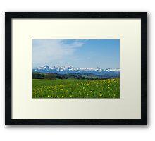 Alps, Germany Framed Print