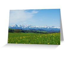 Alps, Germany Greeting Card