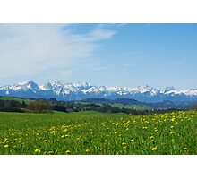 Alps, Germany Photographic Print