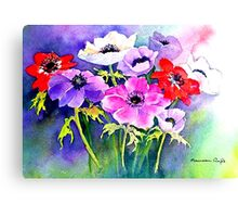 My Favourite Flowers Canvas Print