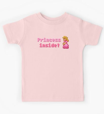 Princess inside! Kids Tee