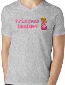 Princess inside! Mens V-Neck T-Shirt