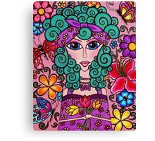 Lady of Spring, Creations by Linz Canvas Print