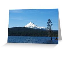 Lake of the Woods with Mount McLoughlin, Oregon Greeting Card