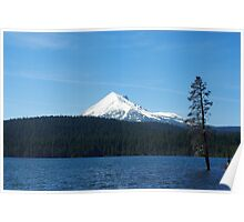 Lake of the Woods with Mount McLoughlin, Oregon Poster