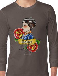 Maria Poppins lady head Long Sleeve T-Shirt