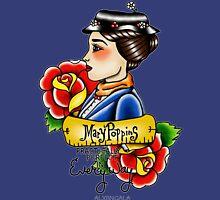 Maria Poppins lady head Unisex T-Shirt