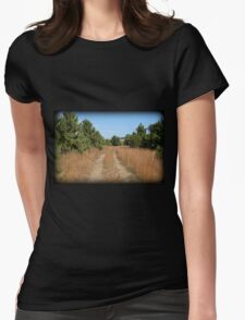 Pinecone Plaza Womens Fitted T-Shirt