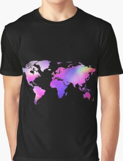 Holographic map Graphic T-Shirt