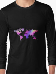 Holographic map Long Sleeve T-Shirt