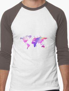Holographic map Men's Baseball ¾ T-Shirt