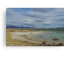 Crystal Reservoir, Nevada Canvas Print