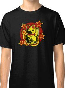 Maneki Neko Chinese Lucky Cat Classic T-Shirt