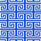 Ancient Greek pattern background by mikath