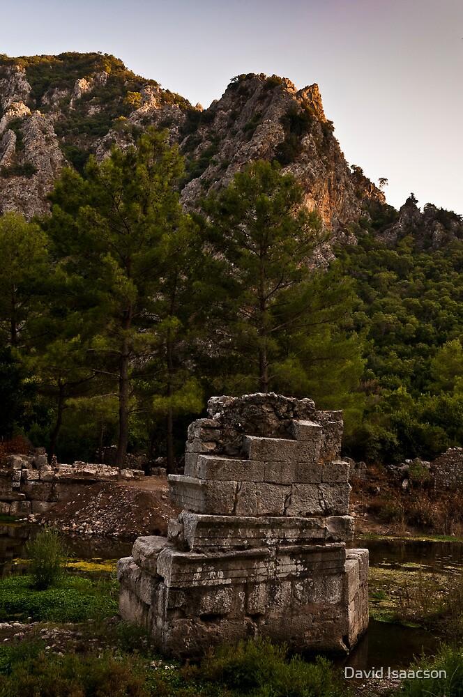 Ruins at Olympos by David Isaacson