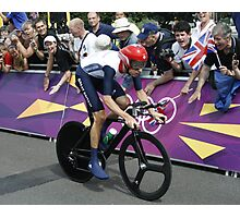 Sir Bradley Wiggins Photographic Print