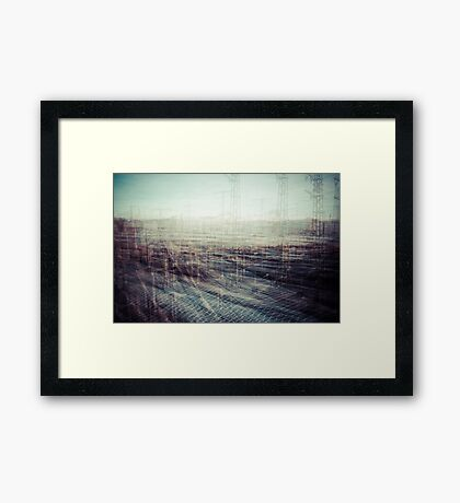 Leave Framed Print