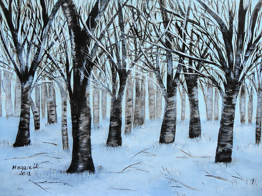 Winter Forest  by maggie326