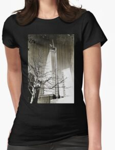 9/11 Freedom Tower Womens Fitted T-Shirt