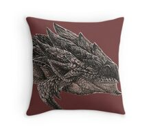 Monster Hunter Rathalos Throw Pillow