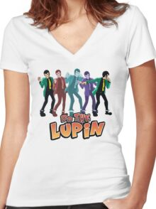 Do the Lupin Women's Fitted V-Neck T-Shirt