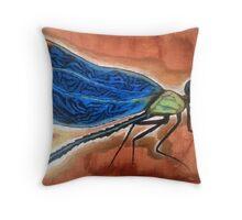 Odonata Throw Pillow