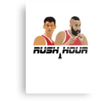 James Harden Jeremy Lin Rush Hour Metal Print