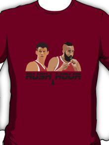 James Harden Jeremy Lin Rush Hour T-Shirt