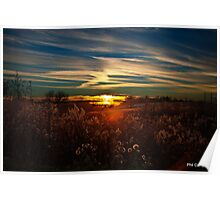Sunset in Kentucky Poster