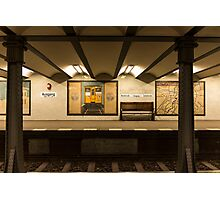 Berlin metro Photographic Print