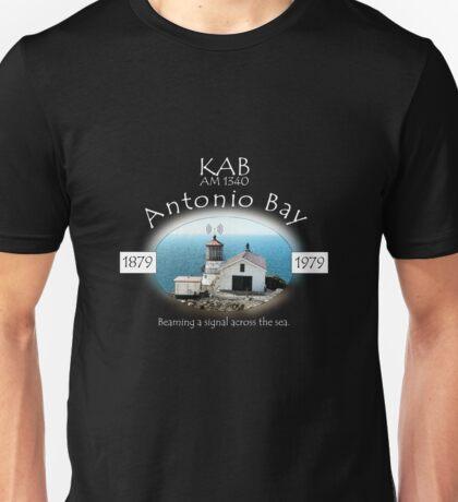 KAB Radio 1340 AM Antonio Bay Unisex T-Shirt