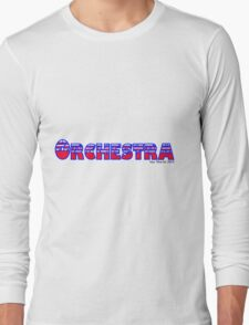 Orchestra Red White & Blue Long Sleeve T-Shirt