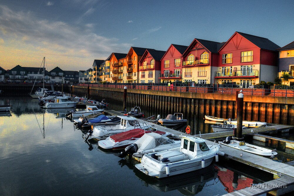 Exmouth Marina  by Rob Hawkins