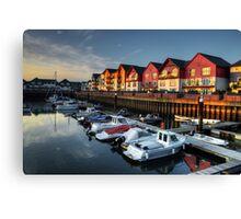 Exmouth Marina  Canvas Print